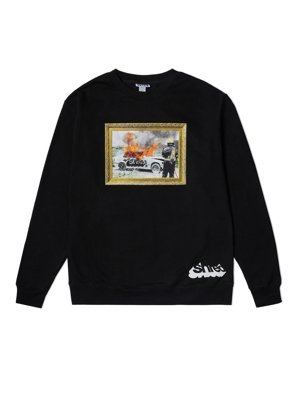 Car Fire Crewneck