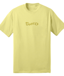Shred Embroidered Logo Tee