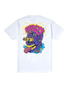 Big Brain Tee White