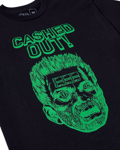 Cashed Out Tee Black