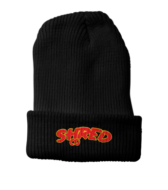 Shred Co Beanie Black