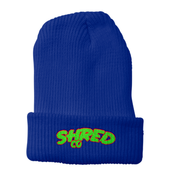 Shred Co Beanie Blue