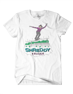 Shreddy Kruger Tee (Grey or White)