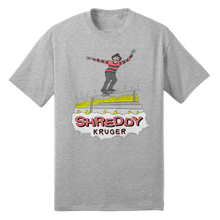 Load image into Gallery viewer, Shreddy Kruger Tee (Grey or White)