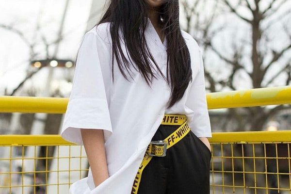 OFF-WHITE Industrial Belt. Fashion label founded by DJ and fashion designer Virgil Abloh