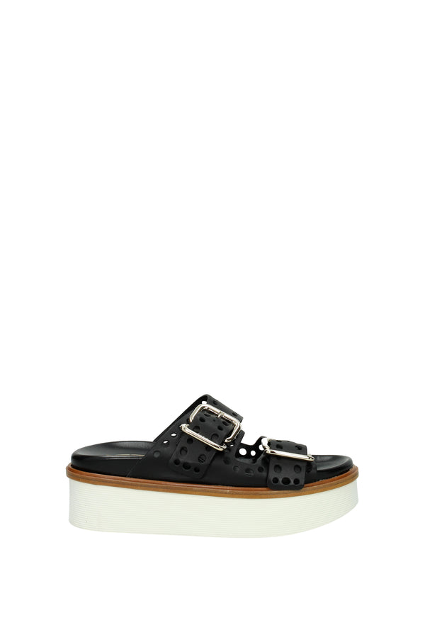 Tod's Sandals  Women Black