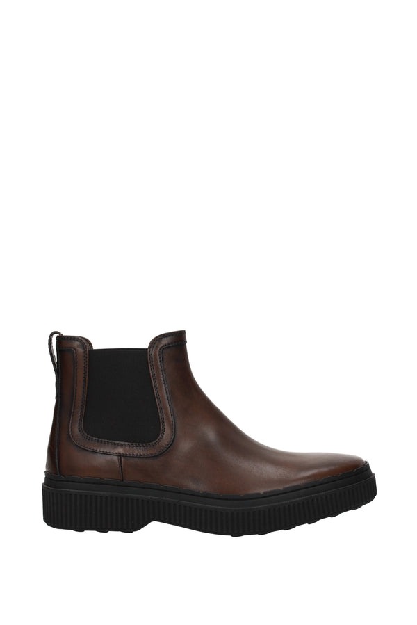 Tod's Ankle Boots  Men Brown