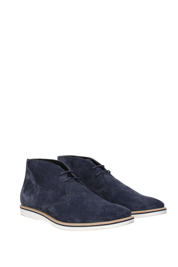 Hogan Ankle Boots  Men Blue
