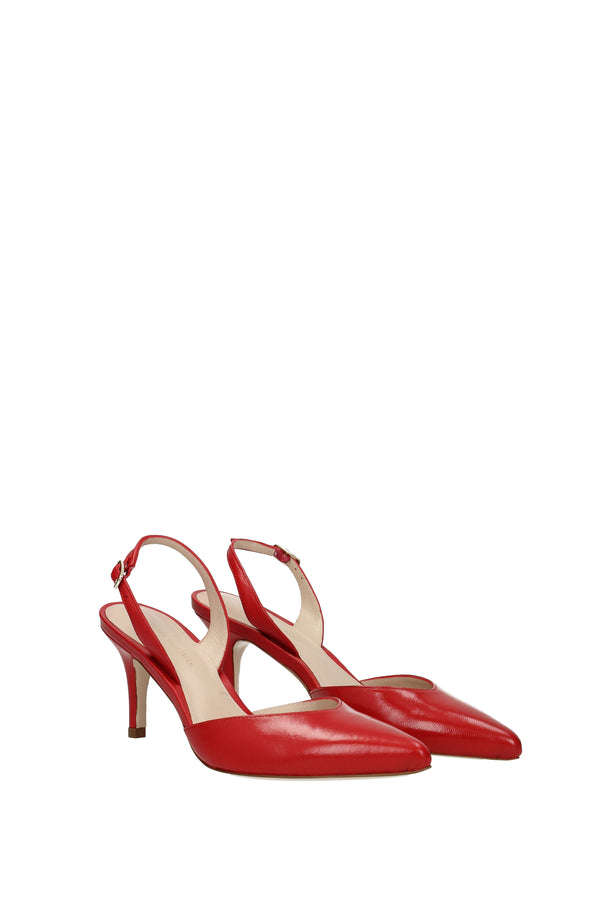Stuart Weitzman Sandals  Sleek Women Red