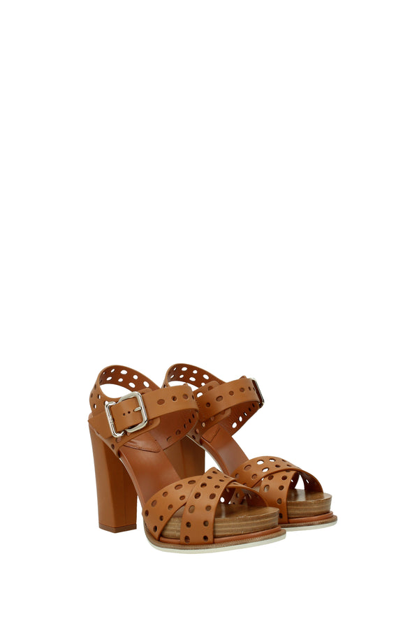 Tod's Sandals  Women Brown