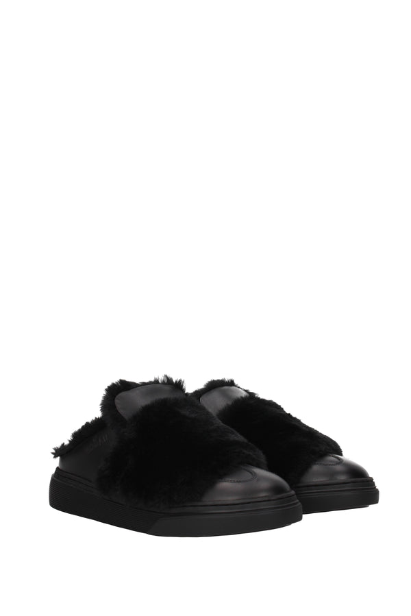 Hogan Slippers And Clogs  Women Black