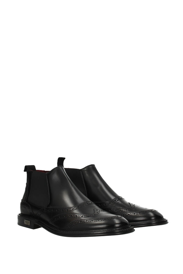 Dolce & Gabbana Ankle Boots  Men Black