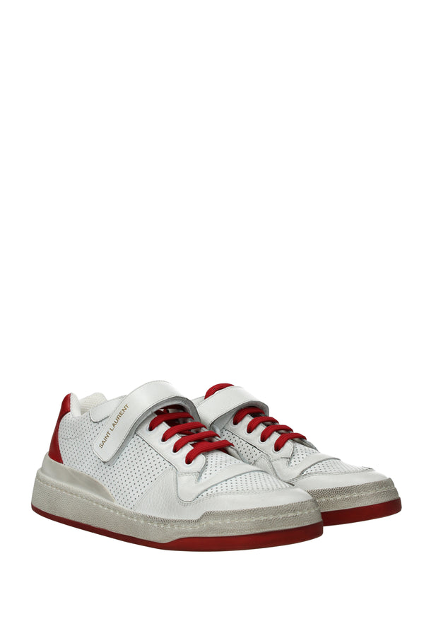 Saint Laurent Sneakers  Man White