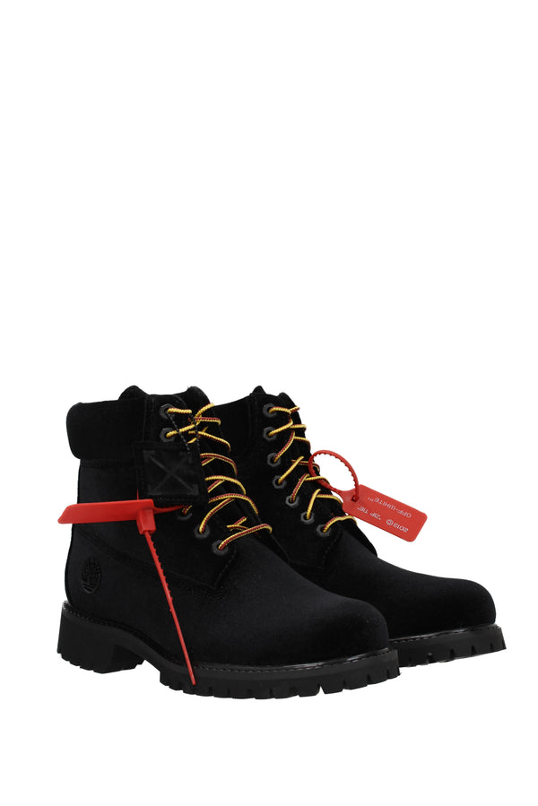 Off-White Black Ankle Boot  timberland