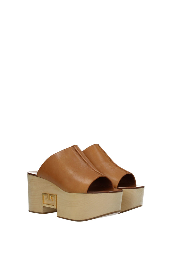 Givenchy Slippers And Clogs  Woman Brown