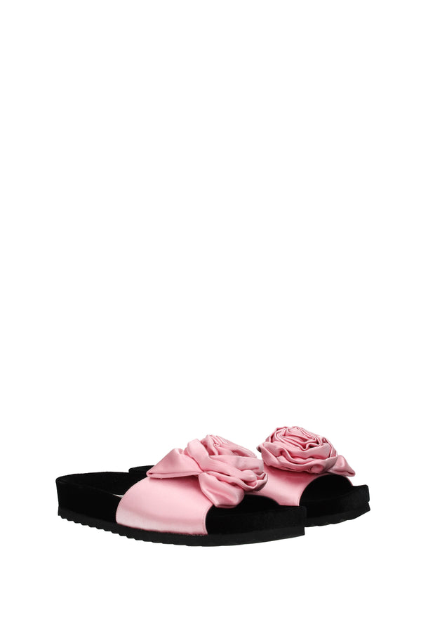 Miu Miu Slippers And Clogs  Woman Pink