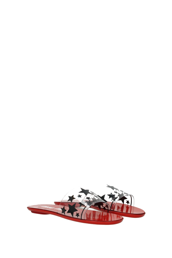 Miu Miu Slippers And Clogs  Woman Transparent