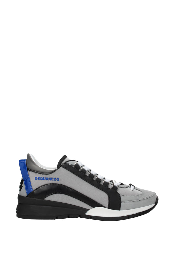 Dsquared2, Gray Sneakers