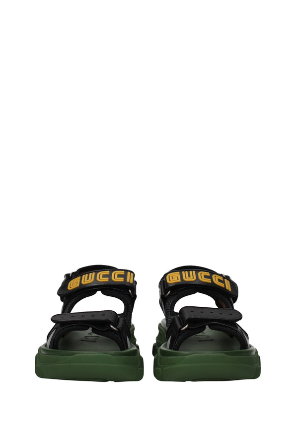 Gucci, Black Sandals