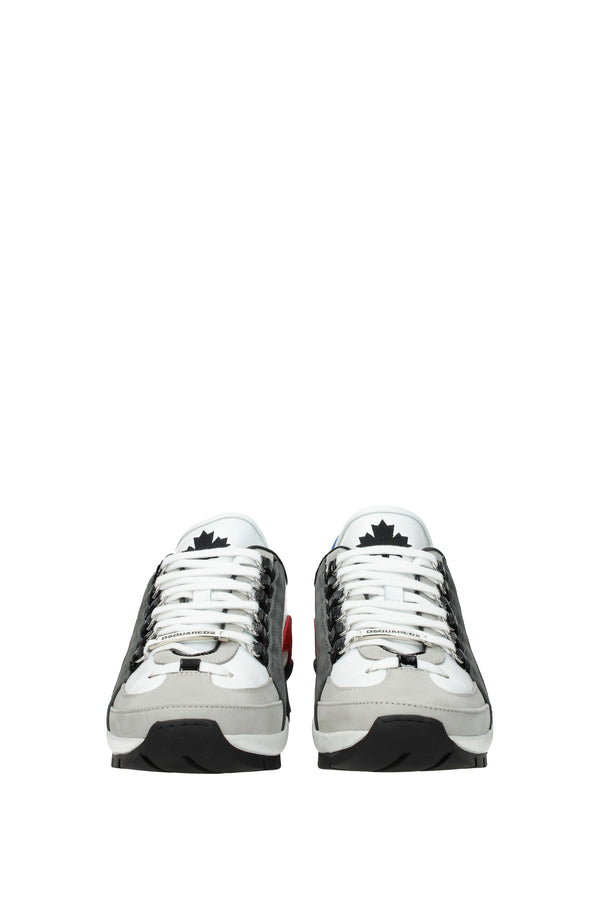 Dsquared2, White Sneakers