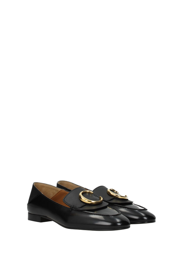 Chloé Black Loafers