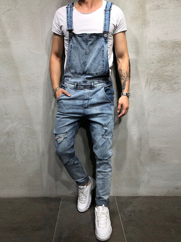 Hole Plain European Jeans