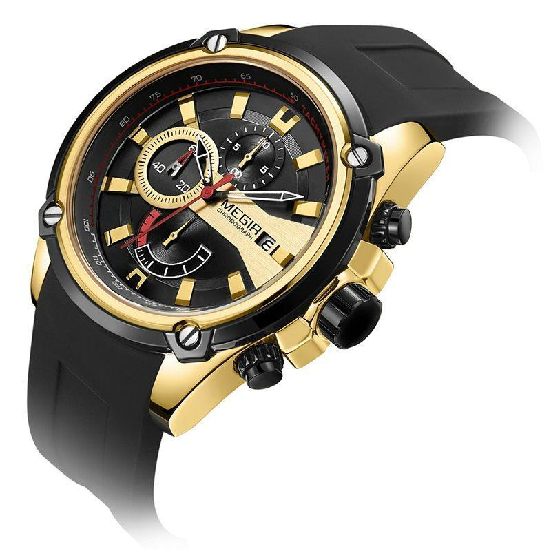 Crystal Water Resistant Quartz Watches