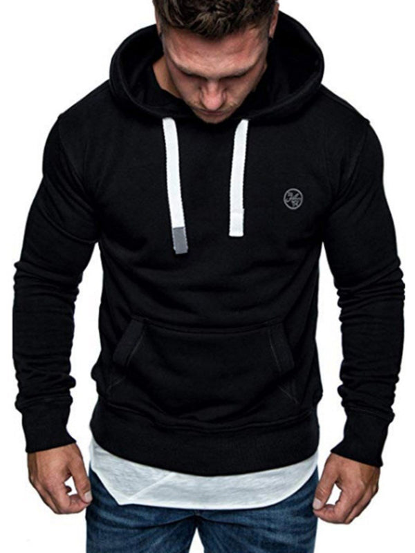 Pullover Straight Hoodies