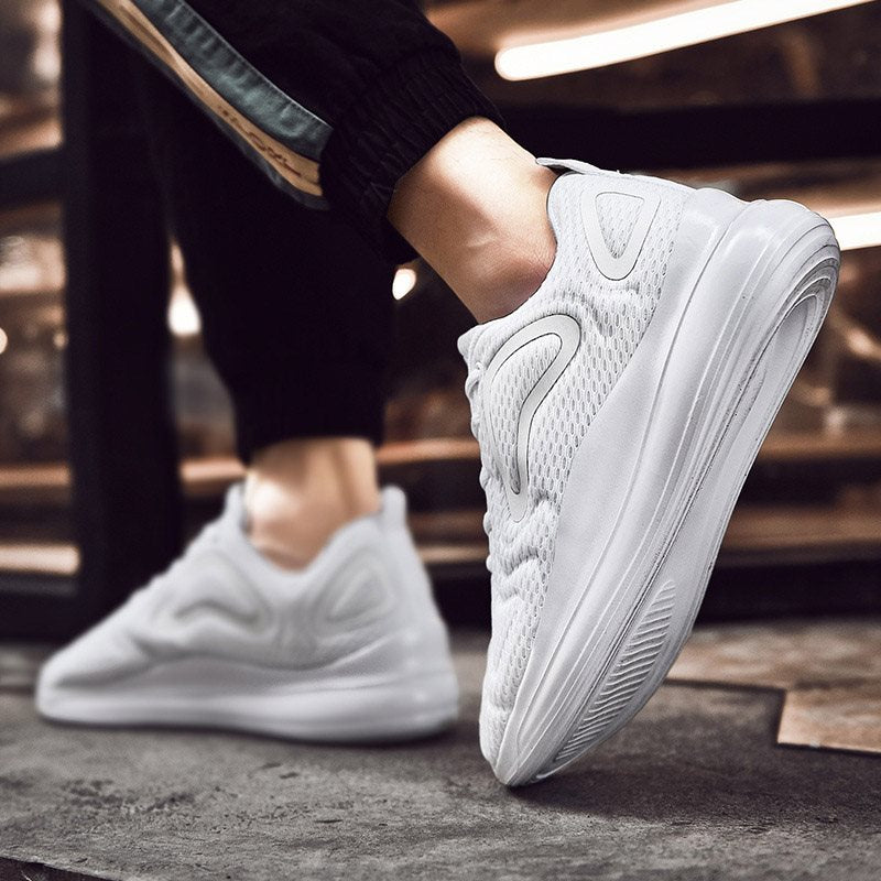 Lace-Up Low-Cut Upper Flat With Cotton Round Toe Sneakers