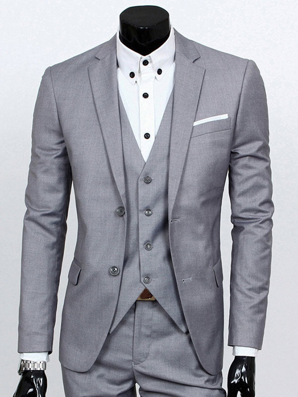 Pants Single-Breasted Dress Suit
