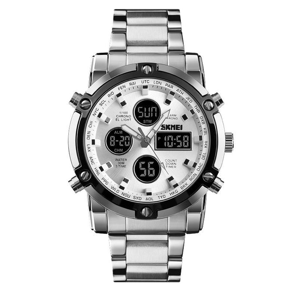 Glass Round Chronograph Watches