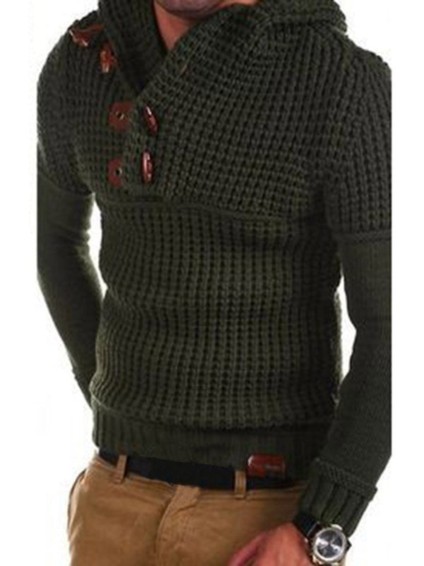 Plain Thread Standard Winter Slim Sweater