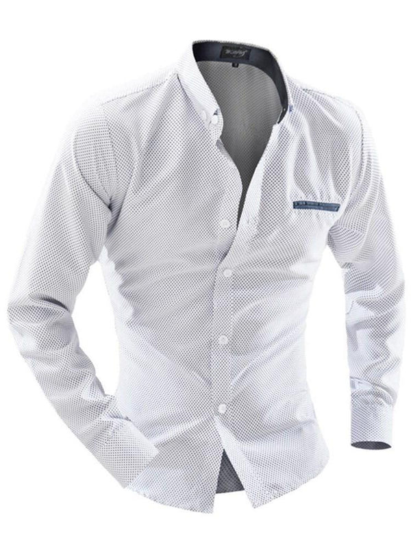 Button Lapel Korean Single-Breasted Summer Shirt