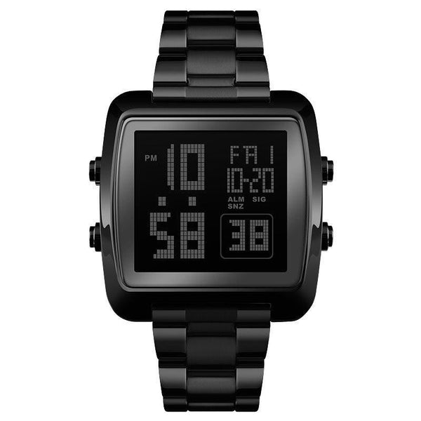 Glass Chronograph Digital Watches
