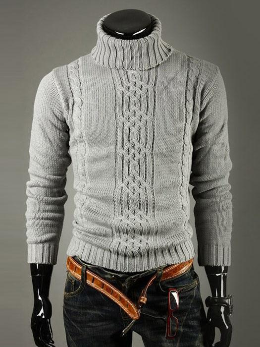 Standard Turtleneck Print England Winter Sweater