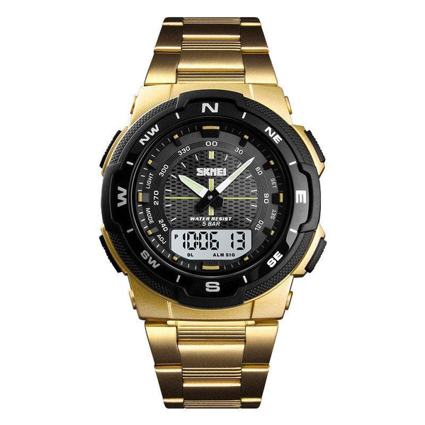 Alarm Digital Glass Watches
