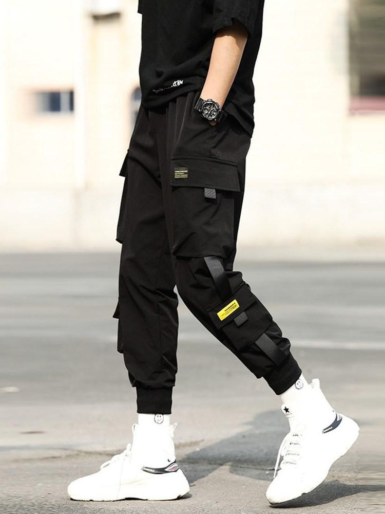 Thin Plain Pencil Pants Korean Spring Casual Pants