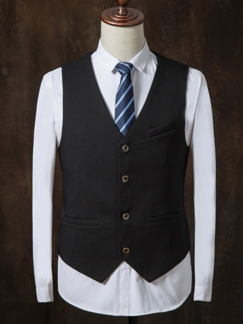 Blazer Single-Breasted Button Dress Suit