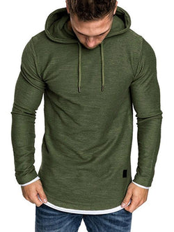 Camouflage Print Pullover Hooded Casual Hoodies