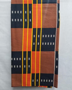 Multi-Colored African Print Fabric