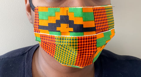 Classic African Print Face Mask