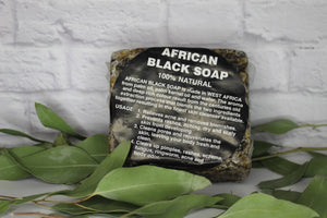 African Black Soap Bar