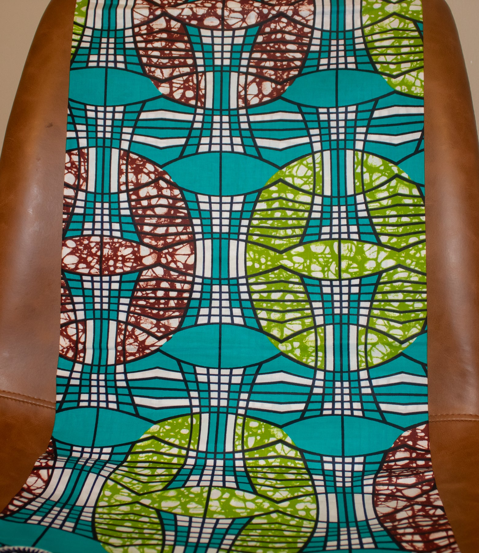 Teal & Lime Fabric