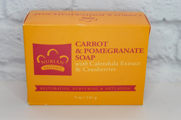 Carrot & Pomegranate Soap, 5oz