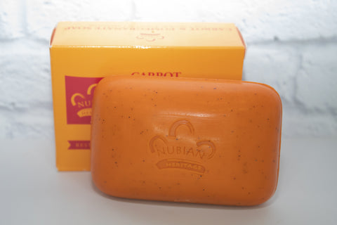 Nubian Heritage Carrot & Pomegranate Bar Soap