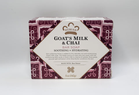Goat's Milk & Chai Bar Soap, 5oz