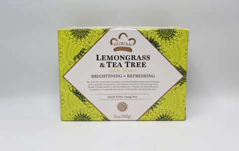 Lemongrass & Tea Tree Bar Soap, 5oz