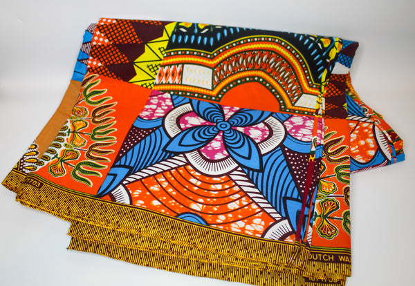 Multi Print Ankara Fabric