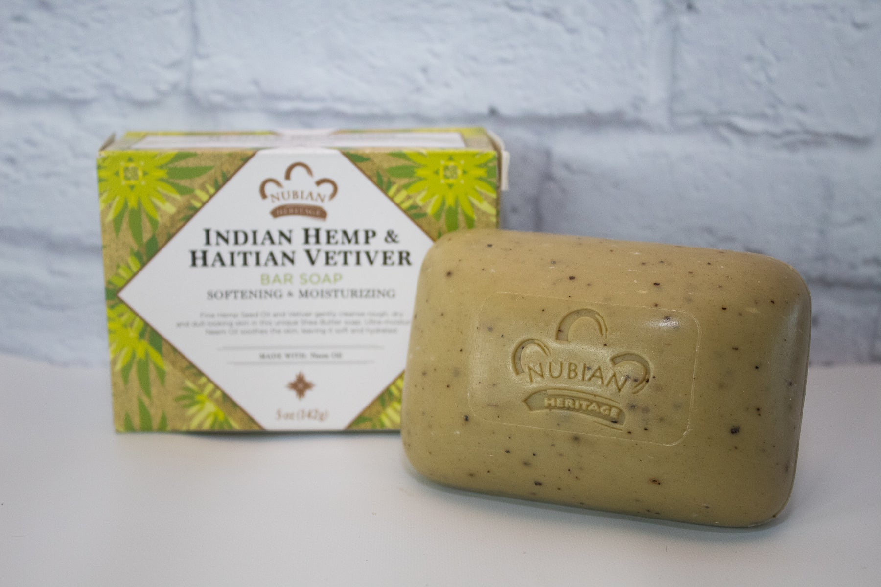 Indian Hemp & Haitian Vetiver Soap, 5oz