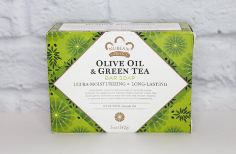 Olive Oil & Green Tea Bar Soap, 5oz